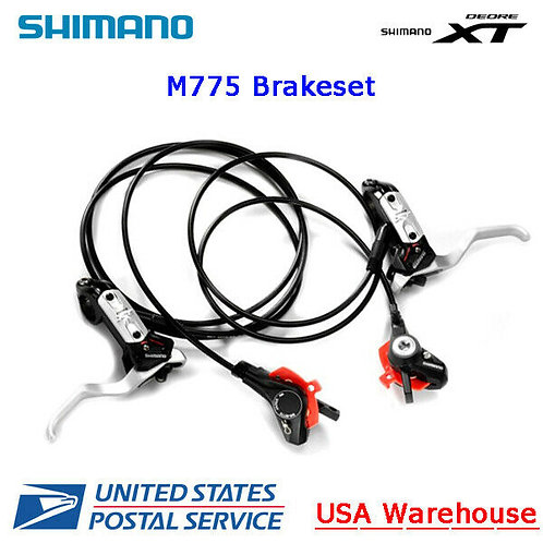 Shimano Deore XT BL-BR-M775 Hydraulic Disc Brake set Front + Rear MTB