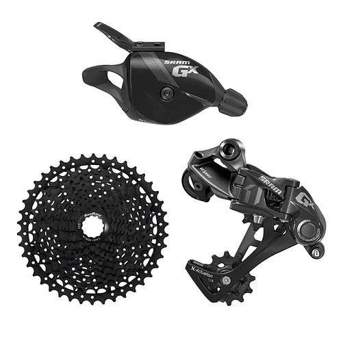 SRAM GX 1x11 Speed 3pcs Groupset Shifter with Sunrace CSMS 11-46T Cassette