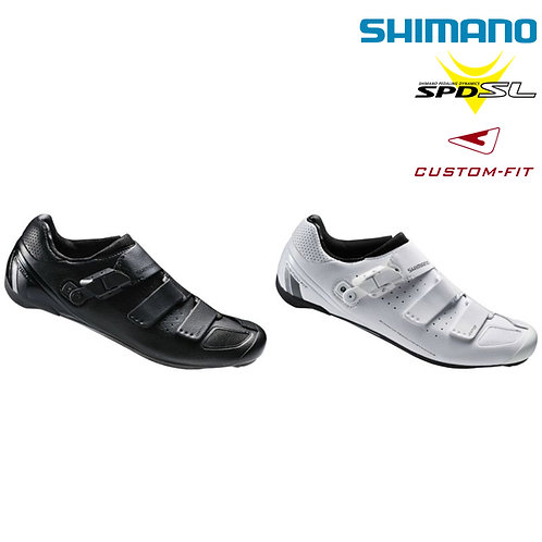 Shimano SH-RP9 SPD-SL Road Bike Cycling Shoes Custom-fit Black White