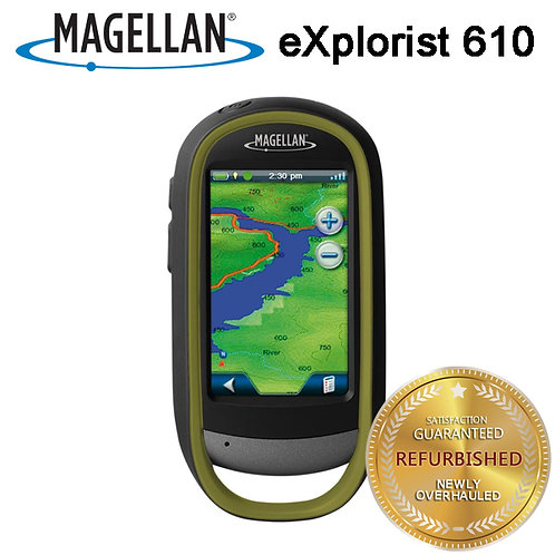 Magellan eXplorist 610 Handheld GPS Receiver-Waterproof