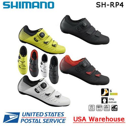 Shimano SH-RP400 RP4 Road Shoes White Black Yellow ROAD