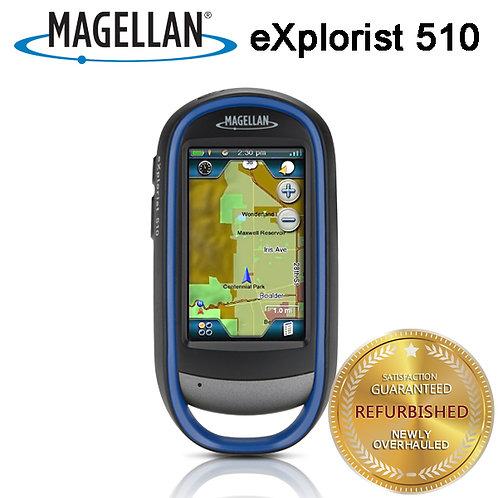 Magellan eXplorist 510 Handheld GPS Receiver-Waterproof