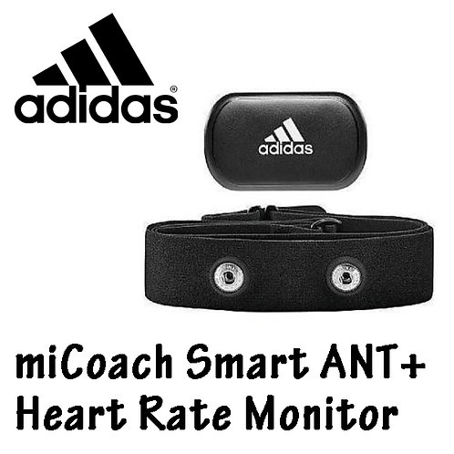 Adidas miCoach Smart ANT+ Heart Rate Monitor with Strap Black