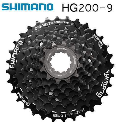 New Shimano CS-HG200 Road Mountain Bike Cassette 9-speed 11-32T