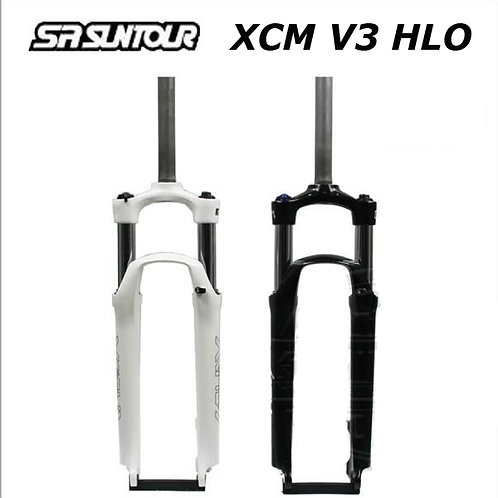 "New SR Suntour XCM V3 HLO Coil 26"" MTB Fork 1-1/8"" QR9 80/100mm Manual Lockout"
