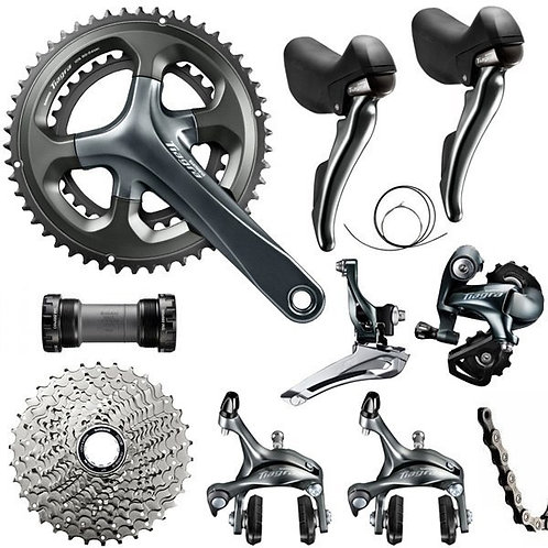 New Shimano Tiagra 4700 2x10 Speed Groupset 170mm 5/7/8pcs Road Bike