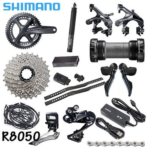 Shimano Ultegra R8050 DI2 22 Speed Full Kit Electronic