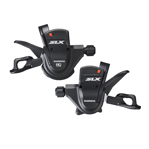 Shimano SLX SL-M670 2/3 x 10 Speed Shifter Levers W/Cable Set Rapidfire Plus MTB