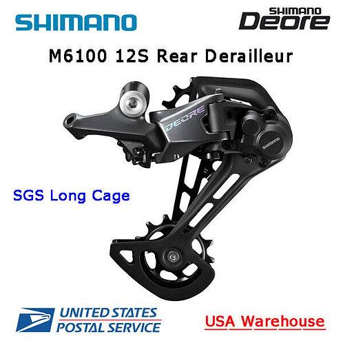 Shimano Deore RD-M6100 Shadow+ 12 Speed Rear Derailleur SGS Long Cage MTB