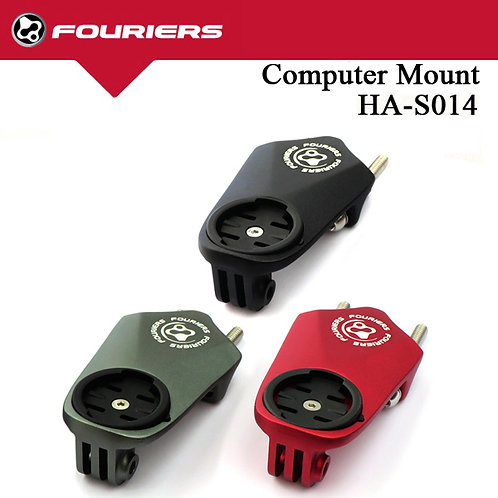 FOURIERS HA-S014 Computer Bike Mount Garmin Edge 800/810/500/510/200 GoPro Hero