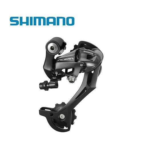 Shimano Acera RD-M390 9 Speed Rear Derailleur Long Cage Black MTB