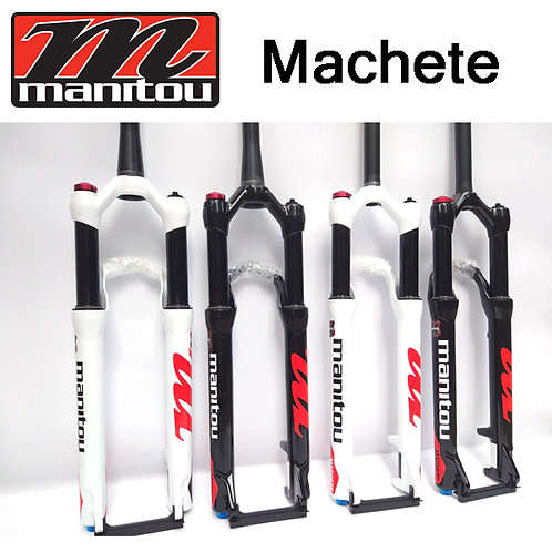 "2017 Manitou Machete 27.5""29"" Fork Straight Tapered Manual/Remote Marvel Comp"