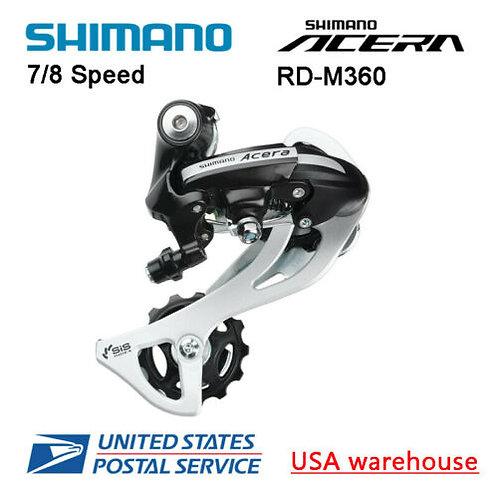 Shimano Acera RD-M360 SGS 7/8 Speed Direct Mount Rear Derailleur SIS Black
