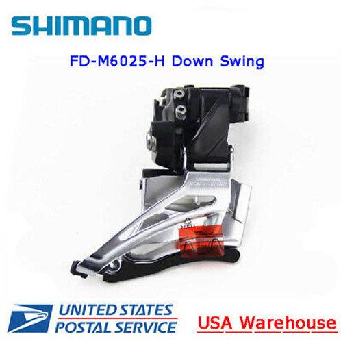Shimano FD M6025-H Down Swing 2x10 Speed Front Derailleur
