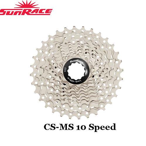 SunRace CS-MS 10 Speed Cassette 11-36T Mountain Bike Champagne