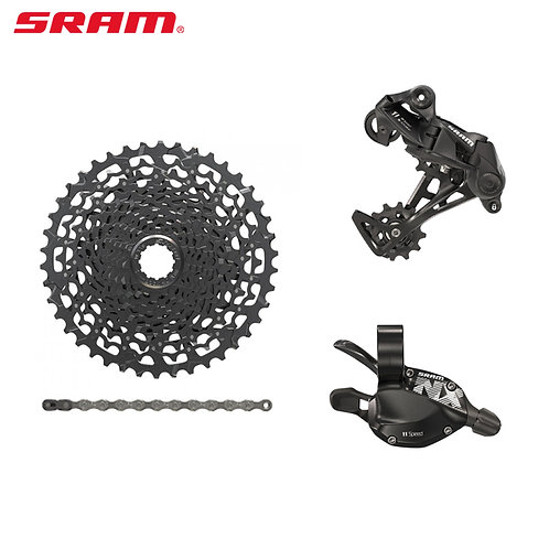 SRAM NX 11 Speed 4pcs Groupset MTB Rear Derailleur Shifter Cassette Chains