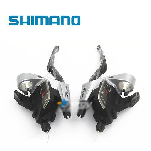 Shimano Trigger T3000 Shifter Set 265g 9 Speed Black