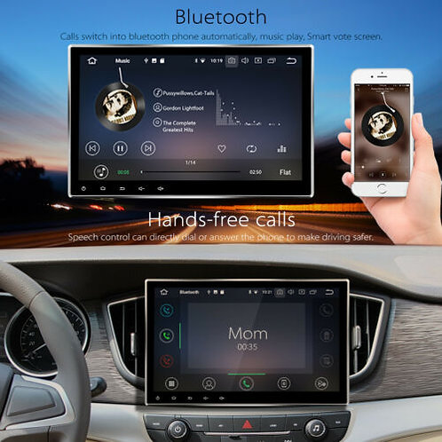 New 10.1 Inch Android 9.0 2+32GB Ram 2Din In-Dash Car Stereo Radio Navi GPS DVD