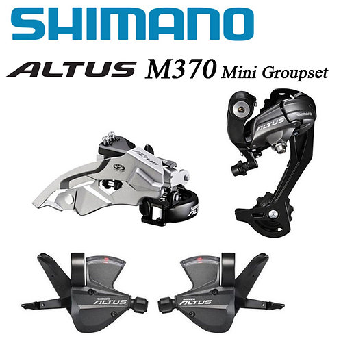 Shimano ALTUS M370 MTB Bike 3x9 27-Speed Shifter Derailleurs Mini Groupset