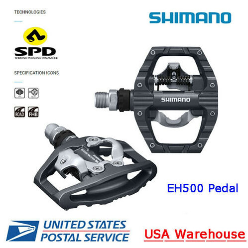 Shimano PD-EH500 SPD Clipless Pedals Platform Road Touring Bike New with Box