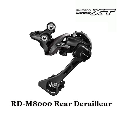 New Shimano XT RD-M8000 11-Speed Rear Derailleur GS SGS Medium / Long Cage