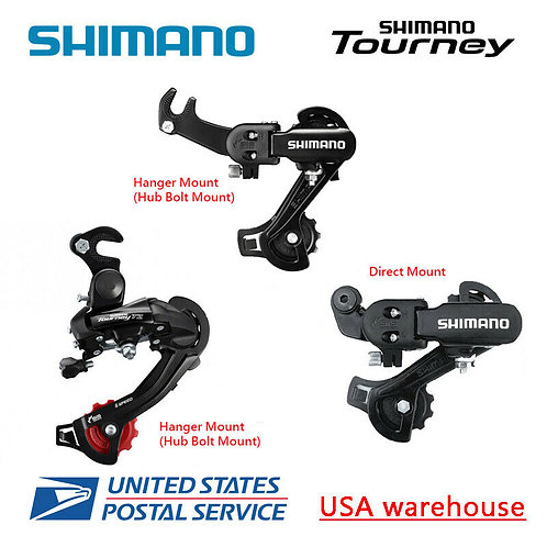 Shimano Tourney RD-TZ31 RD-TZ500 6/7 Speed Direct / Hanger Mount Rear Derailleur