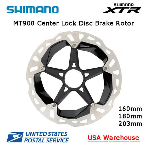 NEW Shimano XTR RT MT900 Center Lock Ice-Tech Disc Rotor 160mm 180mm 203mm MTB