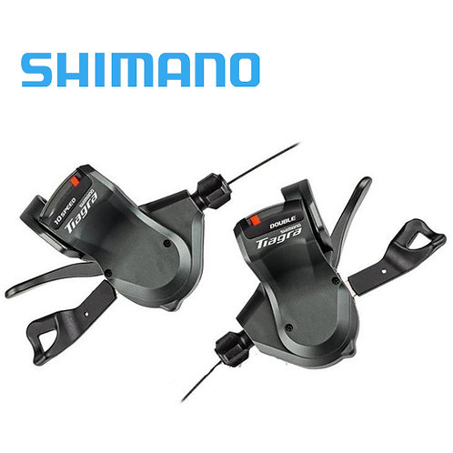 Shimano Tiagra 4700 Flat Bar Left & Right Shifter Set 2x10 20 Speed Black Pair