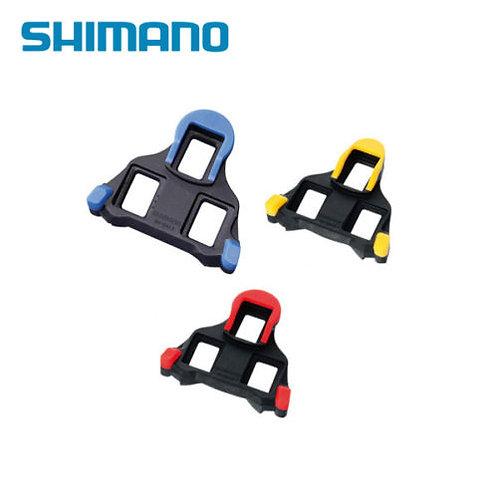 Shimano SH-10/SH-11/SH-12 Road Bike Pedal Cleat Set Red Yellow Blue SH45 Cover