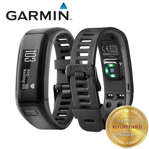 Garmin Vivosmart HR Sport Tracker Heart Rate Monitor HRM TouchScreen Black