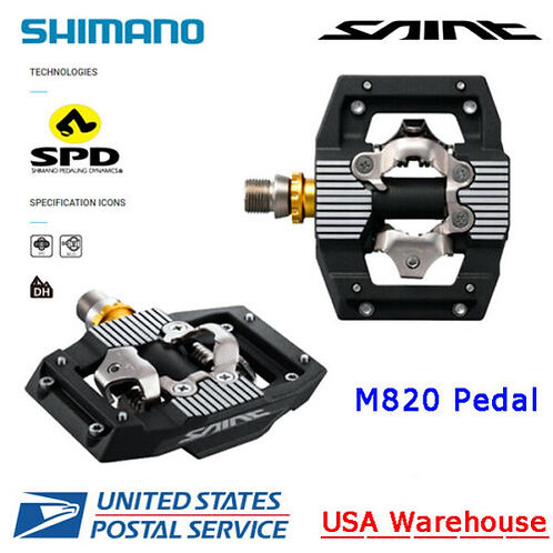 NEW Shimano Saint PD-M820 Pedal Black  DH / FR / MTB - New with Box