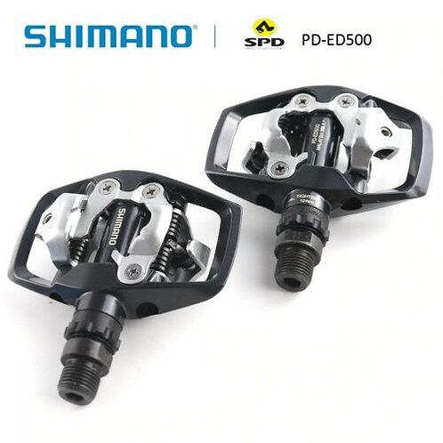 New Shimano PD-ED500 SPD Road Bike Touring Cycling Pedals Clipless SM-SH56 cleat