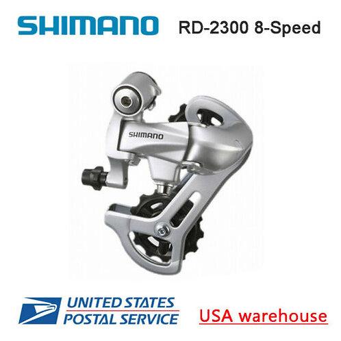 Shimano RD-2300 SS 8-speed Rear Derailleur Short Cage Road Bike Silver