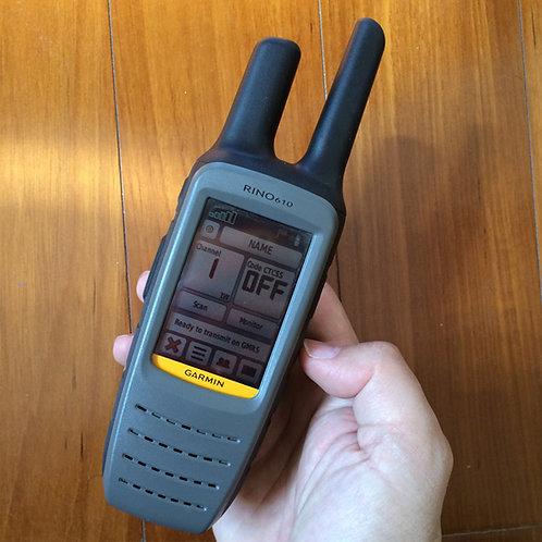 Garmin Rino 610 GPS Handheld 5 Watt 2-way Radio and GPS Navigator