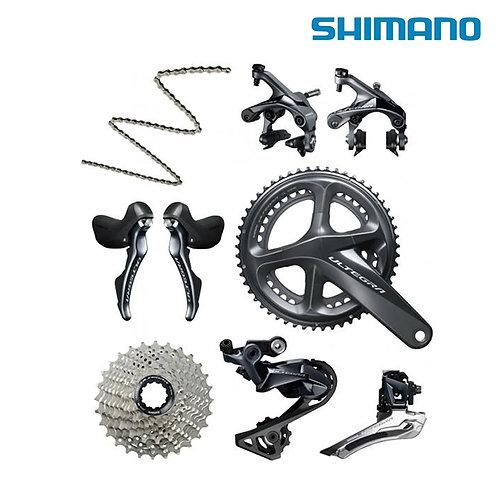 Shimano Ultegra R8000 8pc 50/34T 52/36T 63/39T Groupset Crank 170mm/172.5mm