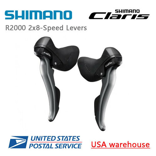 Shimano Claris ST-R2000 2x8-speed Shift/Brake Levers Right & Left Hand (OE)