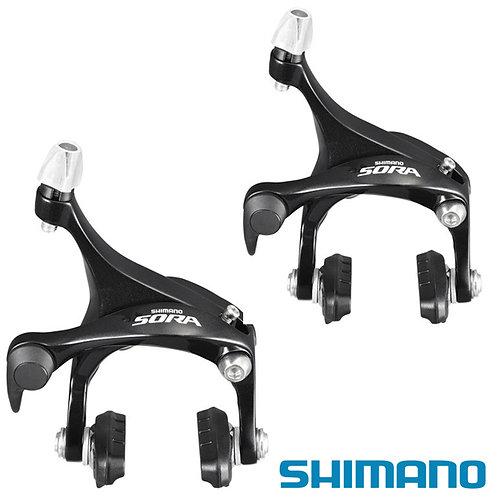 Shimano Sora BR 3500 Road Bike Brake Caliper Set Dual Pivot Front Rear