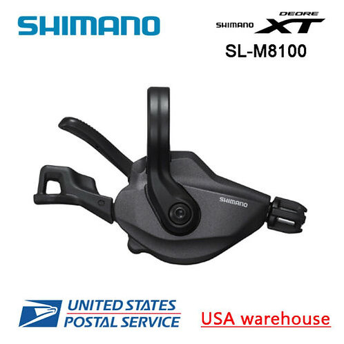 New Shimano Deore XT SL-M8100 12 speed MTB Clamp On Right Shifter (OE)