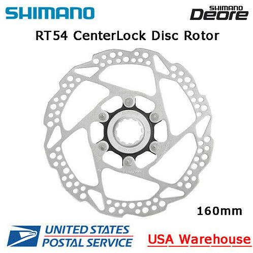 Shimano Deore SM-RT54 CenterLock Disc Brake Rotor 160mm MTB OE