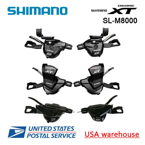 Shimano XT SL-M8000 2/3 x 11 speed MTB Shifter Shift Lever Left/Right/Set (OE)