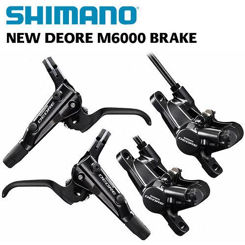 Shimano Deore BR-BL-M6000 Hydraulic Disc Brake Set F&R (OE)