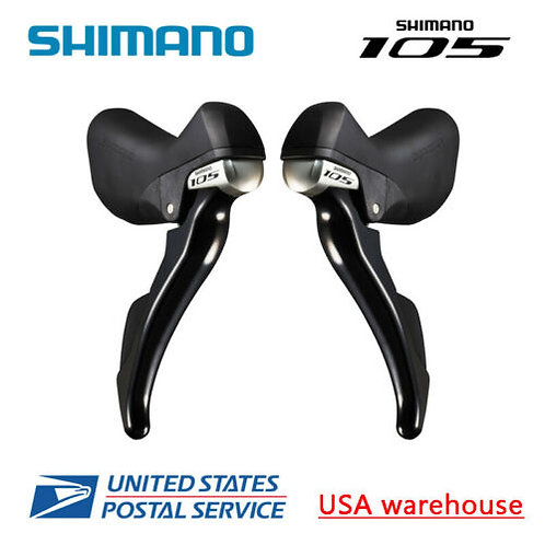 Shimano 105 STI ST-5800 2x11 speed Shift Brake Levers Dual Control L&R w/Cable