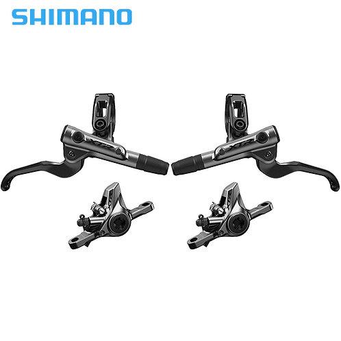 SHIMANO XTR M9100 Hydraulic Disc Brake Set Front + Rear