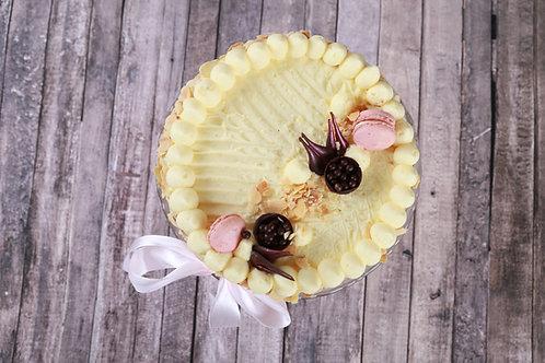 Vanília torta (Cukormentes)