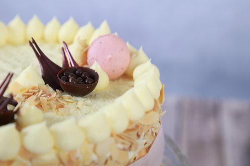 Vanília torta (Főzött krémes)