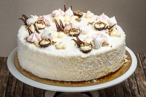 Kókusz torta (Cukormentes)