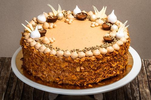 Karamell torta (Főzött krémes)