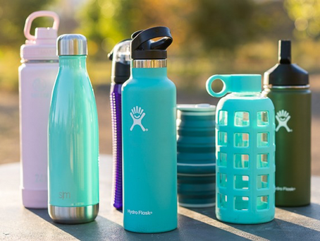 TRAVEL HACK: Water is Life! So is your personal water bottle.