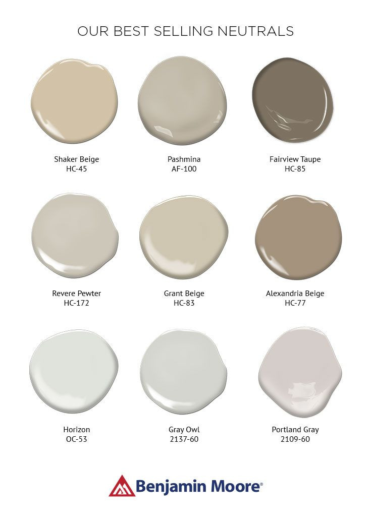 Benjamin Moore Paint colors