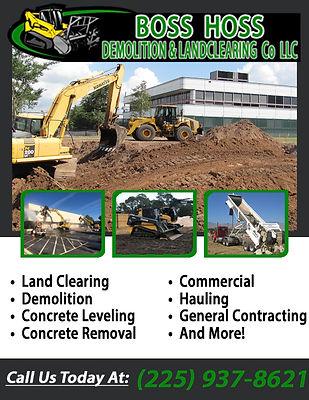 Boss Hoss Demolition & Landclearing Comp